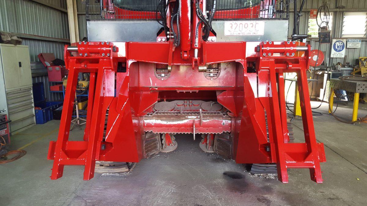 EHS Manufacturing adjustable side shift crop dividers
